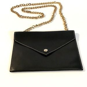 Alberta Di Canio leather cross body envelope  bag